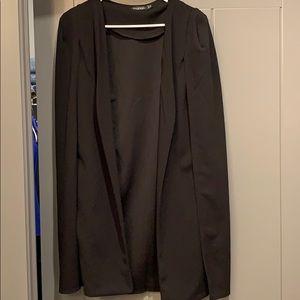 Jackets & Blazers - Long cape blazer